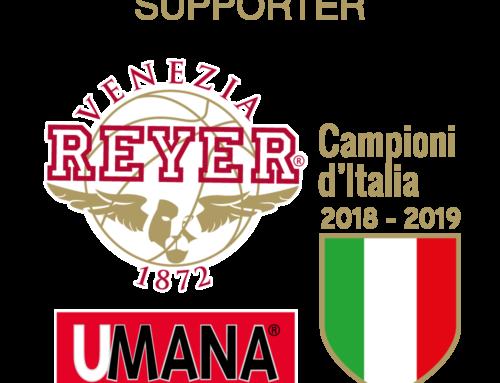 CSU G. Zorzetto supporter ufficiale di Reyer-Venezia per tutta la stagione 2019-2020.
